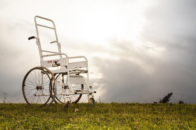 židle pro postižené